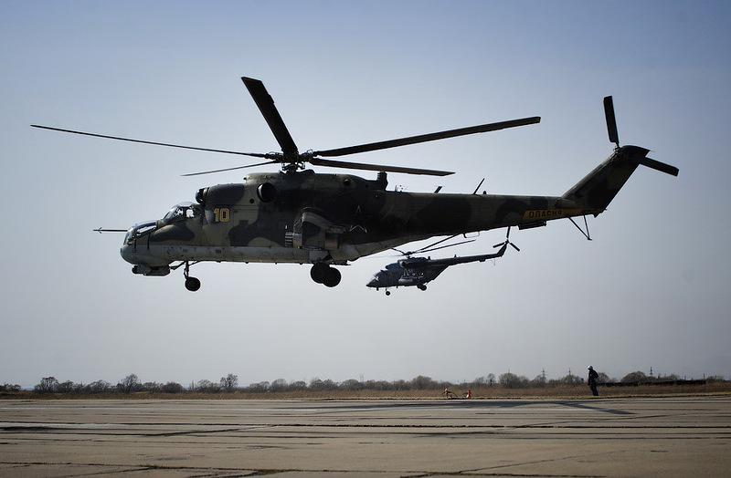Под кронштадтом планируется создать пограничный пропускной пункт для вертолетов