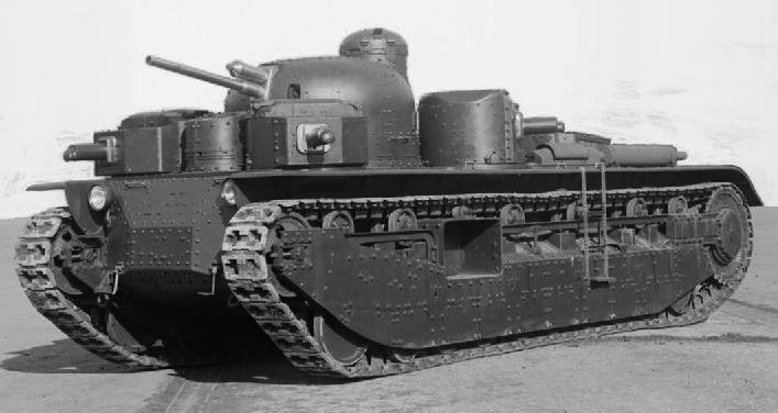 Поговорим о предвоенных тяжёлых танках ркка
