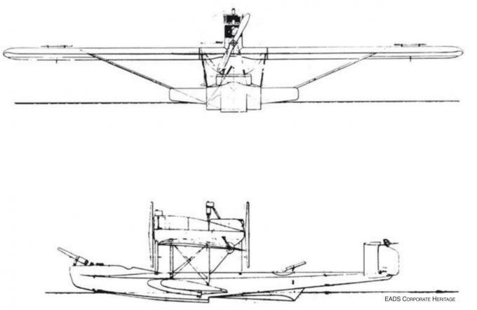 Погубленная воздушная яхта боденского озера. опытный пассажирский самолет dornier gs.1. германия