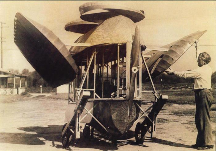 Поиски конструкции безопасного самолёта