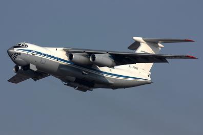 Поисково-спасательный самолет ил-76мдпс.