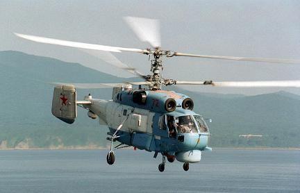 Поисково-спасательный вертолет ка-27пс.