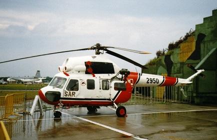 Поисково-спасательный вертолет ми-2рл (м).