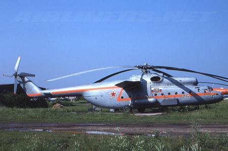 Поисково-спасательный вертолет ми-6пс.