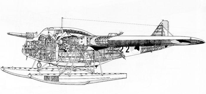Поплавковый бомбардировщик-торпедоносец fokker t-viii w. нидерланды часть 1