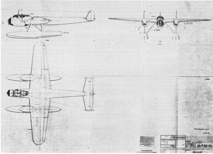 Поплавковый do 217. знакомство с морским пикирующим бомбардировщиком