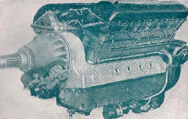 Поршневой авиационный двигатель ам-38.