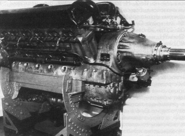 Поршневой авиационный двигатель ам-42.