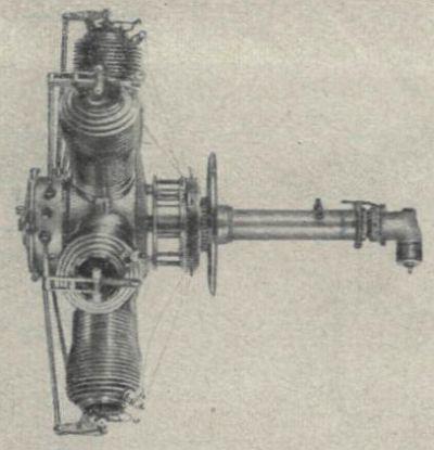 Поршневые авиационные двигатели «калеп».