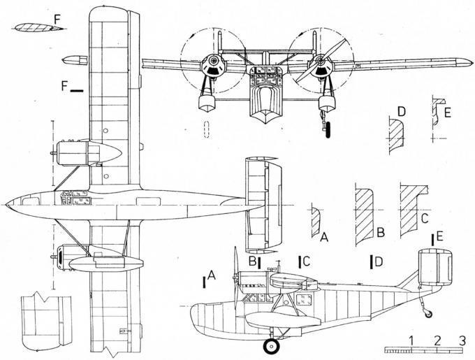 Последний самолет адольфа рорбаха. опытная многоцелевая летающая лодка-амфибия weserflug we 271 v1. германия