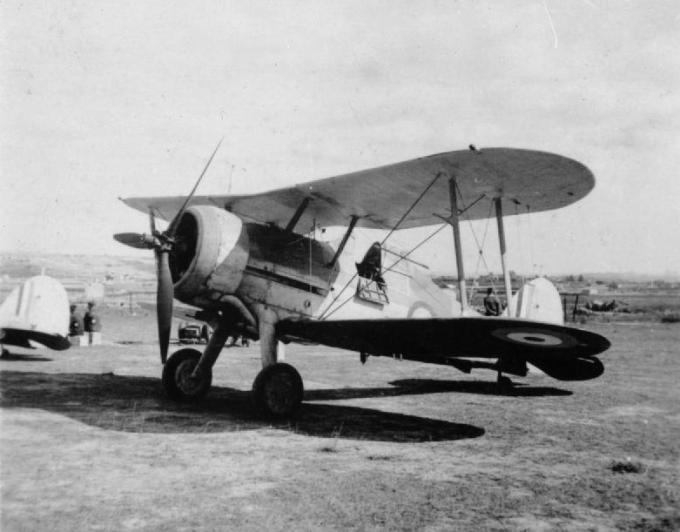 Последний защитник мальты. истребитель gloster sea gladiator n5520 «faith»