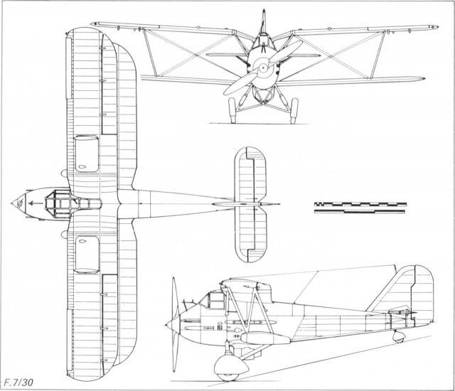 Предок аэрокобры. опытный истребитель westland f.7/30. великобритания