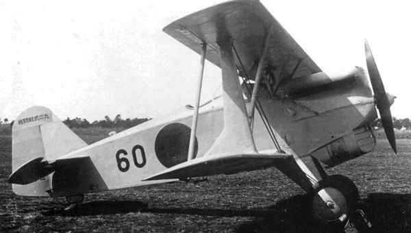 Прерванный полет чайки - истребитель ?? ?5 (kawasaki ki-5). япония
