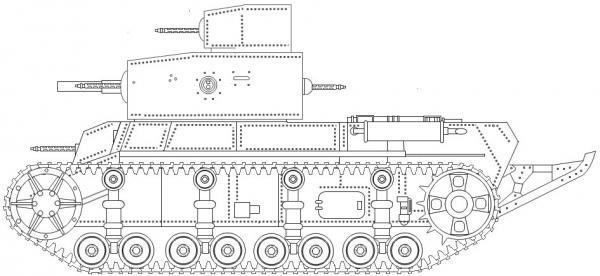 Примеры бронетехники из мира игры полководец