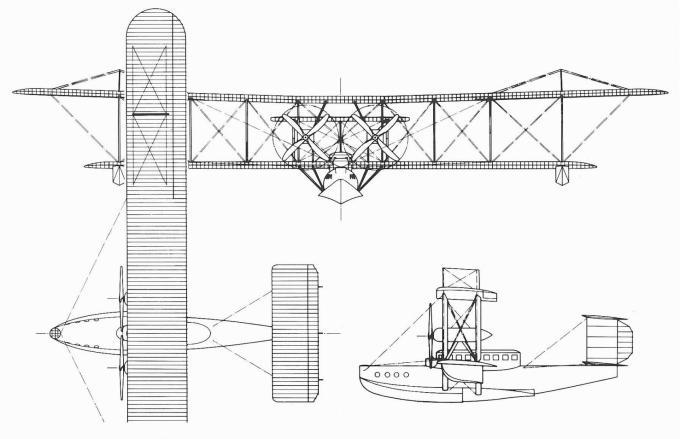 Проект грузопассажирской летающей лодки phoenix p.7 eclectic. великобритания