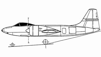 Проект истребителя сопровождения и-211 аш-83.