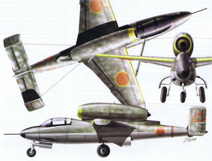 Проект истребителя tachikawa ki-162. япония