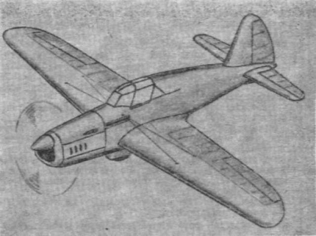 Проект легкого одномоторного истребителя pzl-39/lws-4. польша
