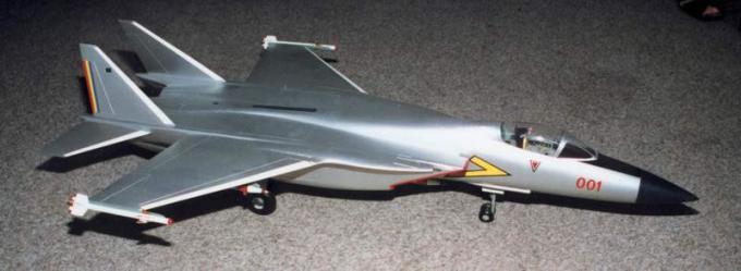 Проект многоцелевого истребителя iar-95. румыния