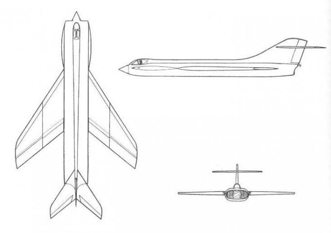 Проект палубного истребителя supermarine type 543. великобритания