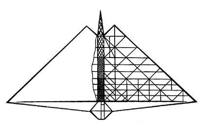 Проект самолёта «дельта».
