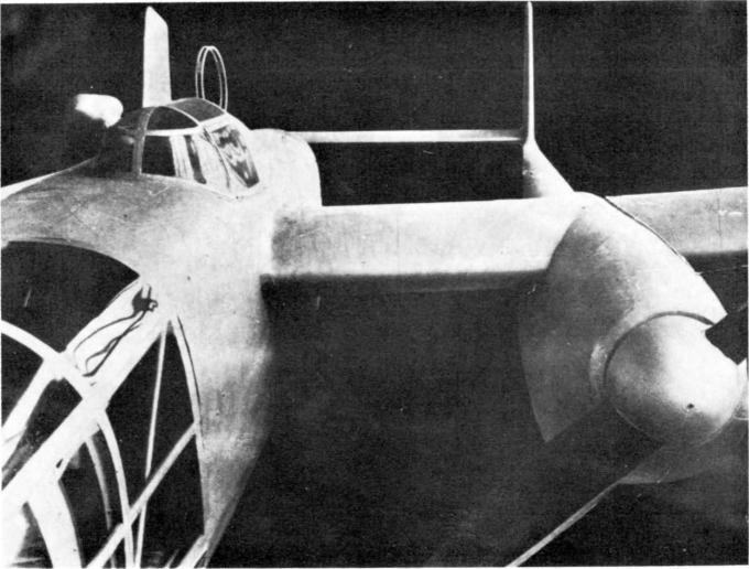 Проект скоростного бомбардировщика weserflug wfg 2137. германия
