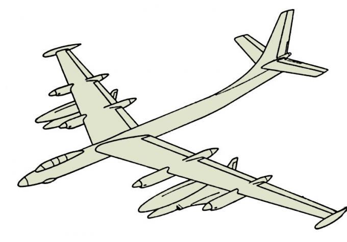 Проект тяжелого дальнего бомбардировщика douglas model 1211-j. сша
