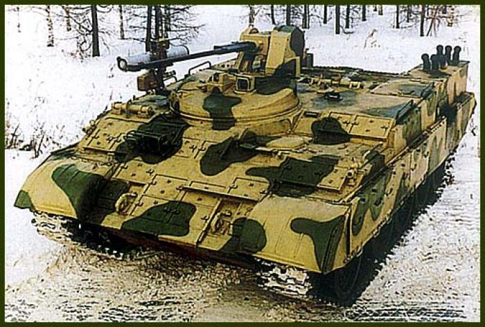 Проект тяжелого двухзвенного бронетранспортера дбтр-т