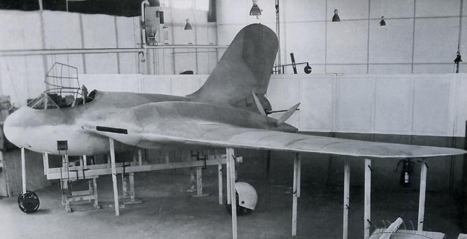 Проект тяжелого истребителя messerschmitt me 329. германия