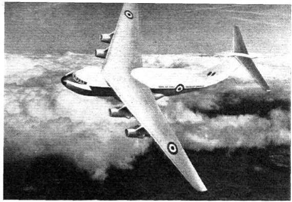 Проект военно-транспортного самолета whitworth gloster 681. великобритания