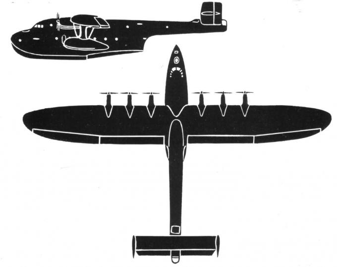 Проекты больших летающих лодок weserflug wfg 2136 и 2138. германия