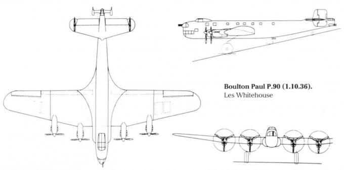 Проекты британских бомбардировщиков спецификации b.12/36.часть 2