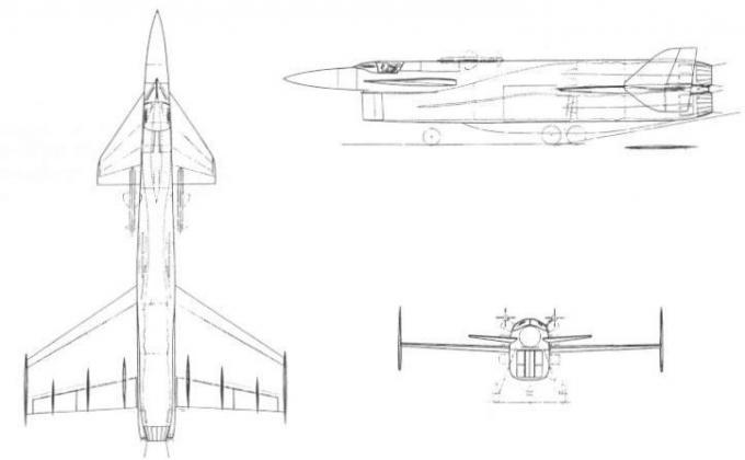 Проекты британских высотных истребителей-перехватчиков 1953-59 годов. проект истребителя-перехватчика vickers type 559