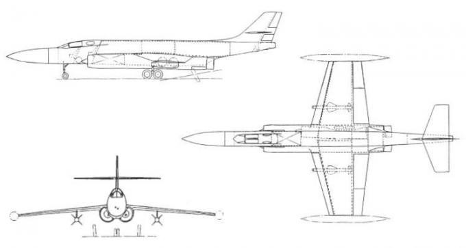 Проекты британских высотных истребителей-перехватчиков 1953-59 годов. проект истребителя-перехватчика de havilland d.h.117