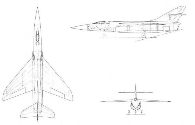 Проекты британских высотных истребителей-перехватчиков 1953-59 годов. проект истребителя-перехватчика hawker p.1103