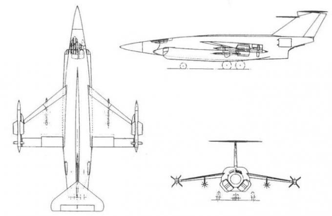 Проекты британских высотных истребителей-перехватчиков 1953-59 годов. проект истребителя-перехватчика saunders-roe p.187