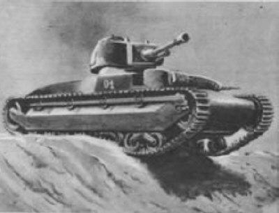 Проекты средних и тяжелых танков польши (1937-1939 гг.)