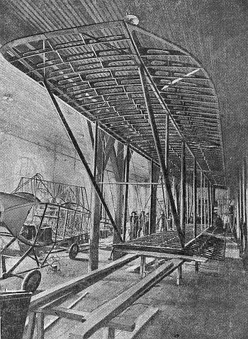 Производство самолетов на авиазаводах россии в годы гражданской войны