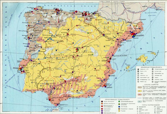 Промышленность испании (gran espana)