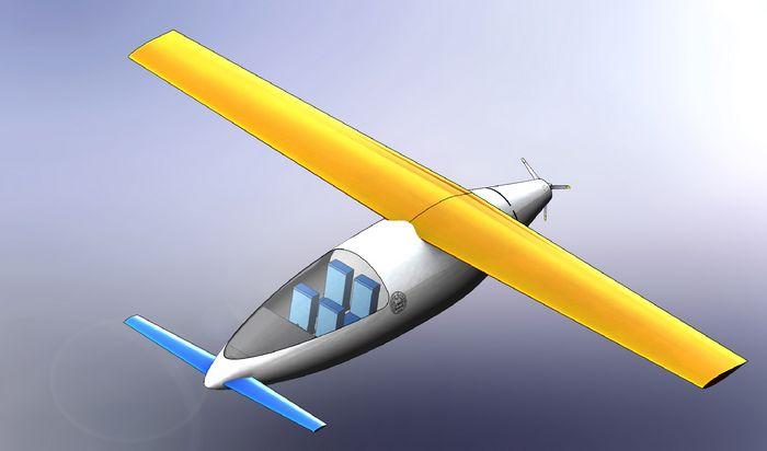 Propulsive wing. технические характеристики. фото.