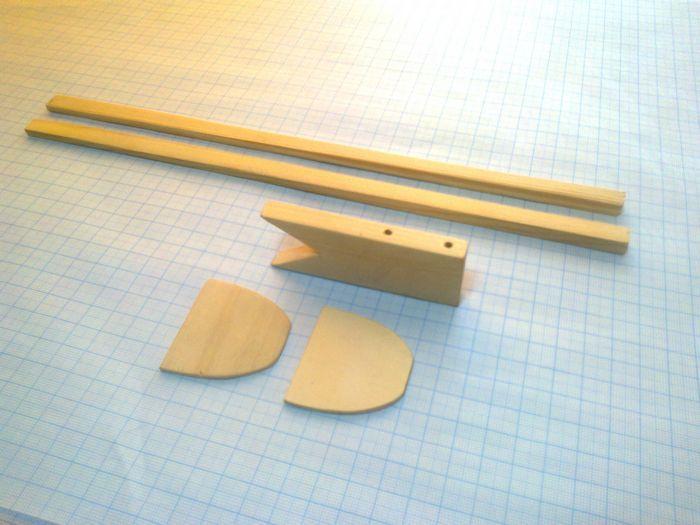 Простая модель самолета для воздушного боя класса f2d