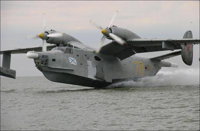 Противолодочный самолет-амфибия бе-12 «чайка».