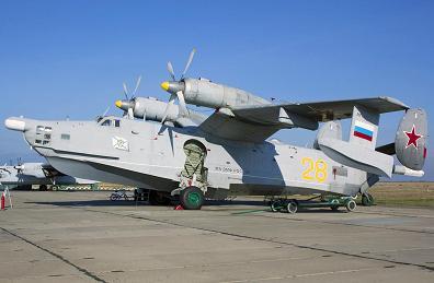 Противолодочный самолет-амфибия бе-12н «чайка».