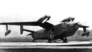 Противолодочный самолет-амфибия бе-12ск «чайка».