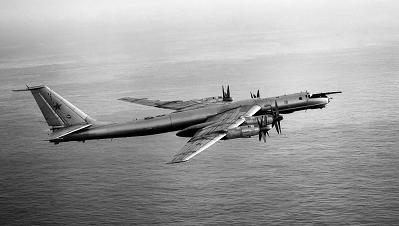 Противолодочный самолет ту-142м3.