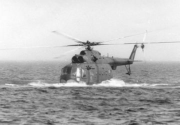 Противолодочный вертолет-амфибия ми-14пл.