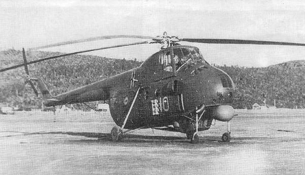 Противолодочный вертолет ми-4м.