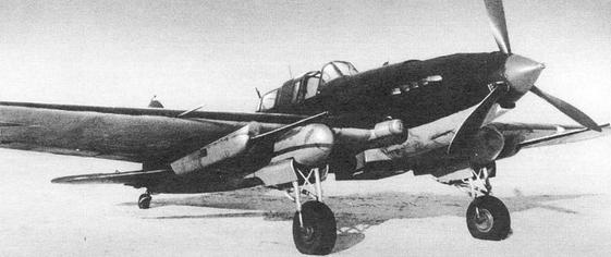 Противотанковый штурмовик ил-2 нс-37.