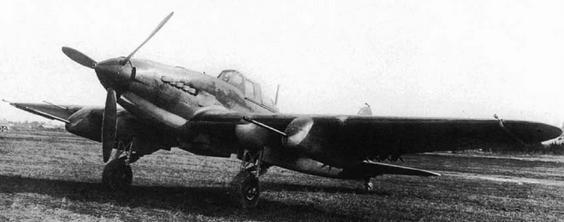 Противотанковый штурмовик ил-2 шфк-37.