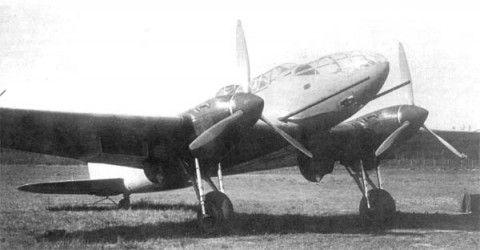 Противотанковый ударный самолет вит-1.